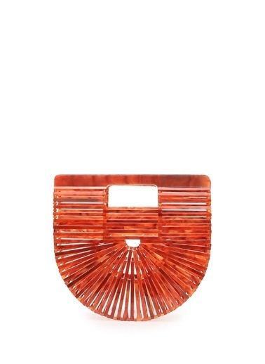 Cult Gaia Clutch / El Çantası Kiremit